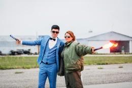 Слетсватбена фотосесия на Мария и Юлиан – Полетът
