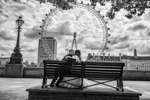 Следсватбена фотосесия в Лондон