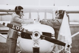 Слетсватбена фотосесия на Мария и Юлиан - Полетът