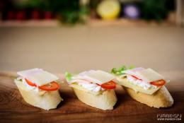 Снимки на храна за Парти Сървиз